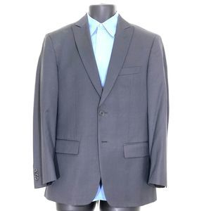 John Varvatos Star USA Grey Button Sport Coat 38S